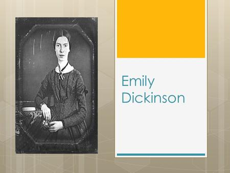 "Emily Dickinson. "" A Bird Came Down The Walk"" Bird came down the Walk— He did not know I saw— He bit an Angleworm in halves And ate the fellow, raw, And."