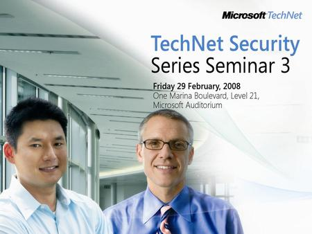 Edwin Sarmiento Microsoft MVP – Windows Server System Senior Systems Engineer/Database Administrator Fujitsu Asia Pte Ltd