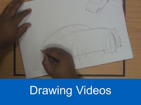 Pedagogic Challenges & New Digital Technology - Drawing Videos Shaun Hutchinson - Industrial Design - CSAD Drawing Videos.