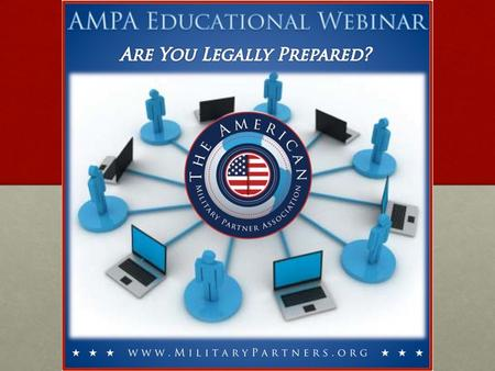 Disclaimers  Educational Webinar – does NOT constitute legal advice!  These topics are governed by state statutes and vary state by state. o Names of.