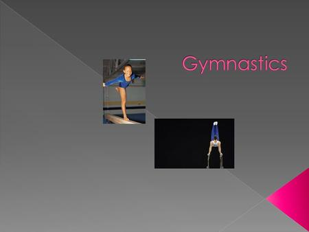  In the floor the gymnast pot the mat on the floor.  She adds her own moves to the routine.  During the moves she dose flips.