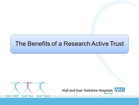 The Benefits of a Research Active Trust. What is Research? Research is about finding out something new and innovative by combining theory with evidence.