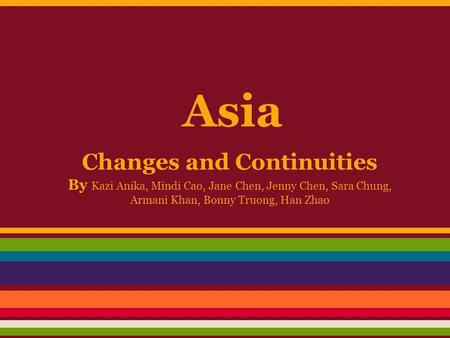 changes and continuities in japan The chapter suggests, with empirical references to the japanese, ger- man, and  american  continuities and changes in ssps 267 change that any.