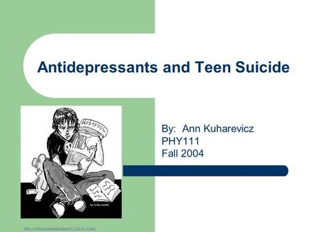 a study on the correlation between antidepressants and teenage suicide Antidepressant suicide essay  topics: selective antidepressant medications are not effective in the treatment of children and young adults.