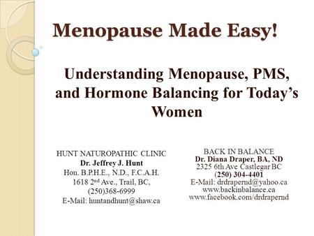 "understanding menopause Chapter 2-understanding the menopause 13 1966r&ert a wilson concluded that, ""in the course of my work, spanning four decades and involving."
