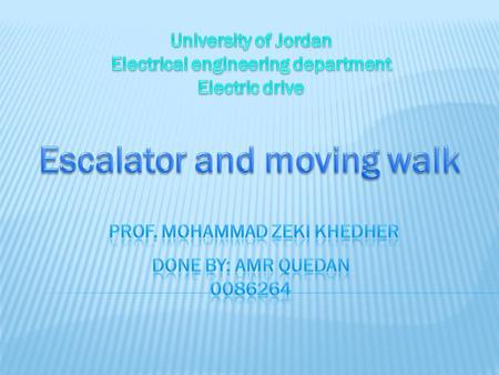 Escalator and moving walk