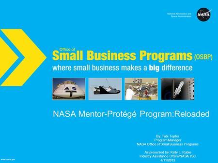 nasa mentoring program - photo #32