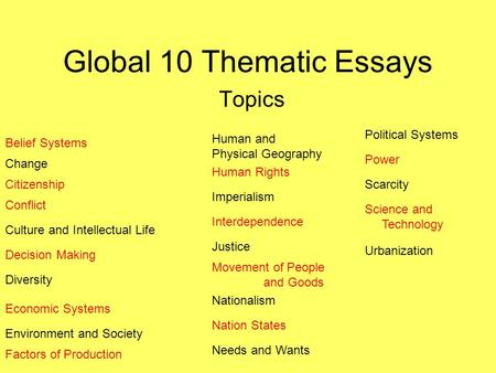 Thesis Statement For Process Essay Staff Webpages Thesis Statement Essays also Reflection Paper Example Essays Thematic Essay Belief Systems Islam Sample Of Research Essay Paper