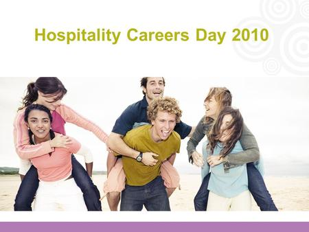 Hospitality Careers Day 2010. Aims for this afternoon Consolidate what the employers spoke of this morning so you will be able to face each stage of the.