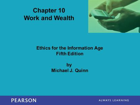 Chapter 10 Work and Wealth