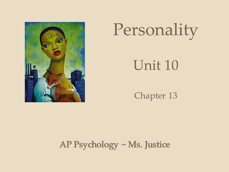 Personality Unit 10 Chapter 13