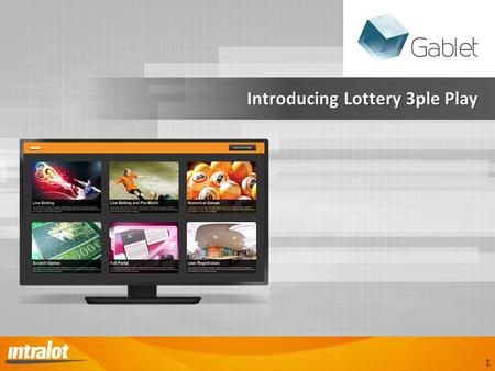 Introducing Lottery 3ple Play Introducing Lottery 3ple Play 1.