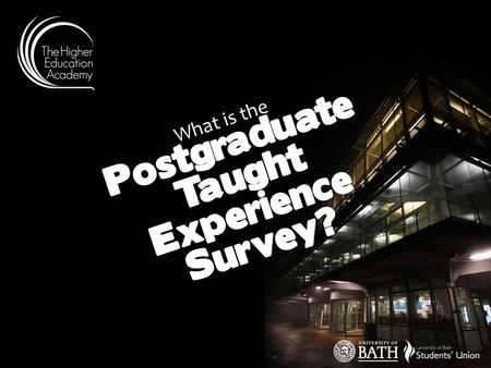 What is the Postgraduate Taught Experience Survey?