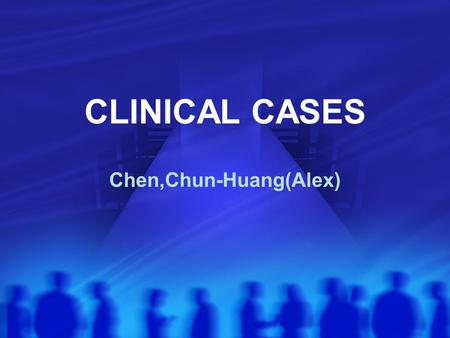 CLINICAL CASES Chen,Chun-Huang(Alex). Case NO.5 An elderly woman with arthritis becomes confused about her medications, and start taking 20 aspirin tablet.