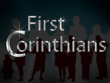 1 Corinthians Author: Apostle Paul Origin: Ephesus Date: Mid 50s Purpose: To respond to reports about prideful posturing, and to answer local church questions.