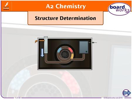 Boardworks A2 Chemistry Structure Determination