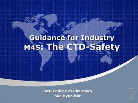 Guidance for Industry M4S: The CTD-Safety