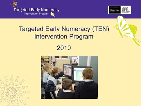 Targeted Early Numeracy (TEN) Intervention Program