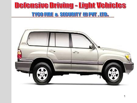 Defensive Driving - Light Vehicles