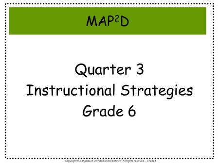 what are some instructional strategies