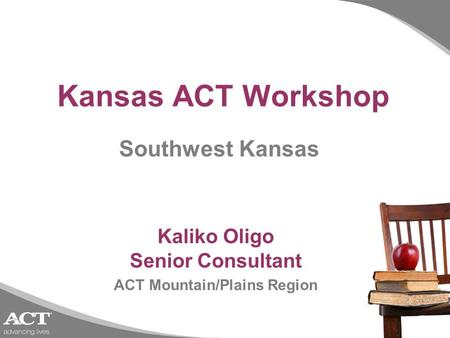 Kaliko Oligo Senior Consultant ACT Mountain/Plains Region
