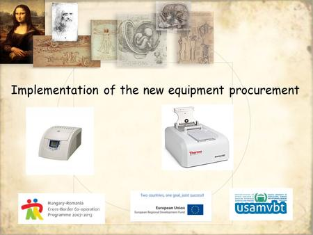 Implementation of the new equipment procurement. Small refrigerated centrifuge for research, biotechnology and medical laboratory Refrigerated version.