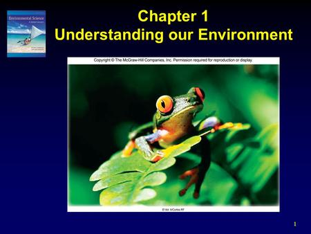 1 Chapter 1 Understanding our Environment. 2 Introduction Environmental Science – systematic study of our environment as well as our role in it  Interdisciplinary.