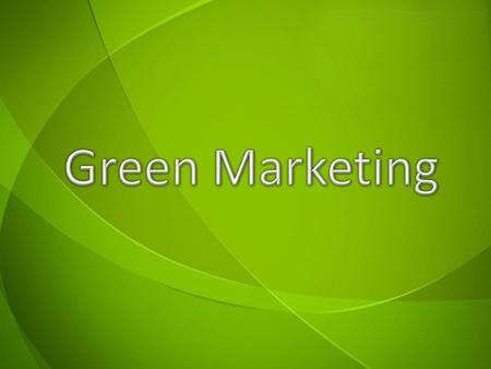 green marketing challenges and strategies Green marketing is defined as the concept where in the production, marketing of environmental safe product and services happened in a manner that is less detrimental to the environment with growing awareness about the.