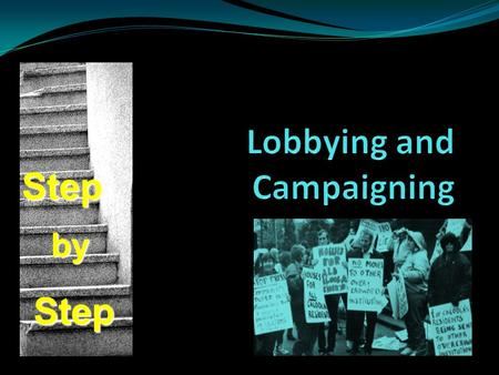 Lobbying and Campaigning