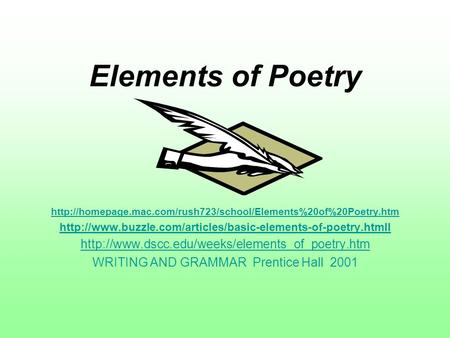 WRITING AND GRAMMAR Prentice Hall 2001