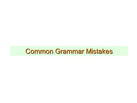 Common Grammar Mistakes. We were supposed to go to the meeting yesterday, however, it was cancelled because of lack of interest. ; however,