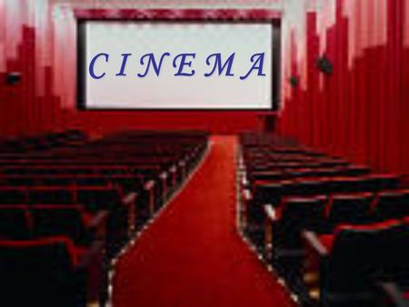 C I N E M A. * review the history of the beginning of movies. * write the script for a scene. * go behind the scenes to see what a producer, director.