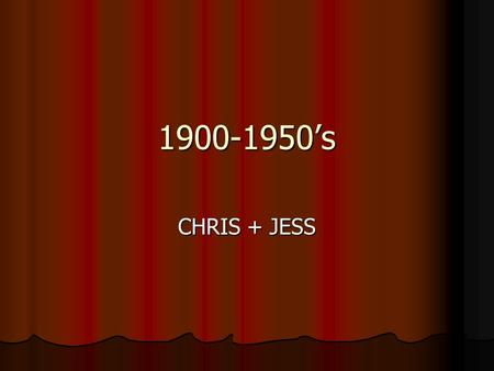1900-1950's CHRIS + JESS. Henrik Ibsen 1828-1906 He was a Norwegian Dramatist. He was a Norwegian Dramatist. Norways most famous playwright, changing.