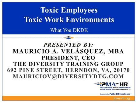 Toxic Employees Toxic Work Environments What You DKDK