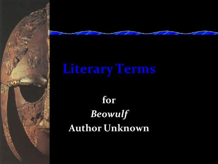 poetry terminology antithesis