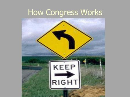 How Congress Works. Congressional Rules - Developed to help Congress operate: 535 people making laws for over 300 million… There must be rules! -House.