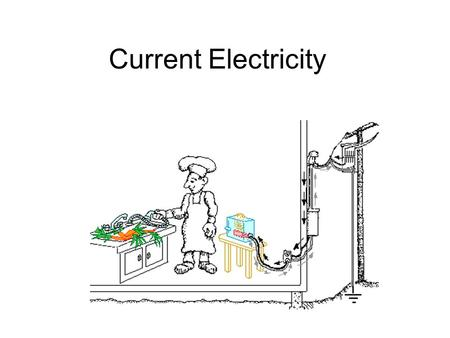 Current Electricity. An electrical current is a flow of charged particles (electrons or ions) through a circuit.