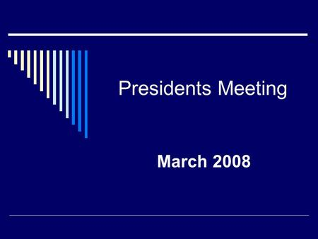 Presidents Meeting March 2008. State Government Affairs Legislative Update  Specific Respiratory Therapy Legislation  AZ- bill to roll independent RT.