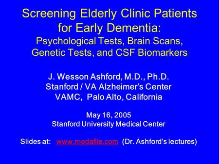 screening for biomarkers of aging Applications of circulating mirna-based tests for diagnosis of acute and chronic  brain pathologies, for research of normal brain aging, and for disease and.