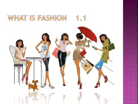 What is Fashion 1.1.