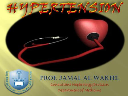 Case HYPERTENSION Source: NCHS and NHLBI. Hypertension is defined as SBP 140 mm Hg or DBP 90 mmHg, taking antihypertensive medication, or being.