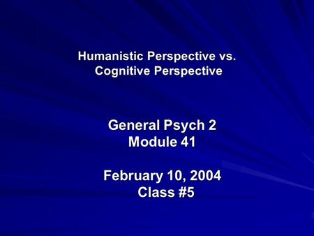 Humanistic Psychology in Sport