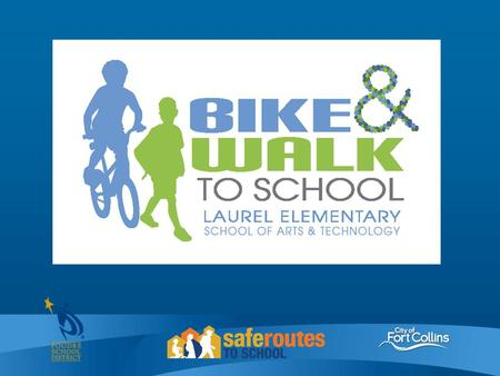 Active transportation is good for kids. Walk or bike to school for exercise Improves academic performance It's a wellness initiative that happens before/after.
