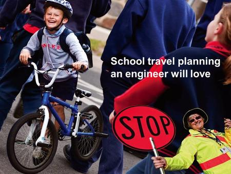 School travel planning an engineer will love. School travel in Moonee Valley Need: A more planned and coordinated approach to active travel program delivery.