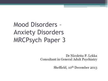 mood disorders essay My personal struggle was certainly a contributing factor in writing this, as well as my desire for people to truly understand this topic a mood disorder is a.