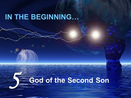 "IN THE BEGINNING… God of the Second Son 5. Jesus answered, ""I tell you, not seven times, but seventy-seven times."" Mt 18:22 [ Blasphemy ≈ Cheapening ]"