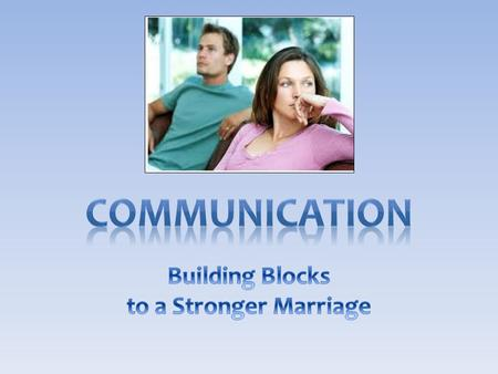 Essential to any successful relationship – God communicates to us through His Son, Heb 1:1-2; Acts 20:32 – Children of God communicate with their heavenly.