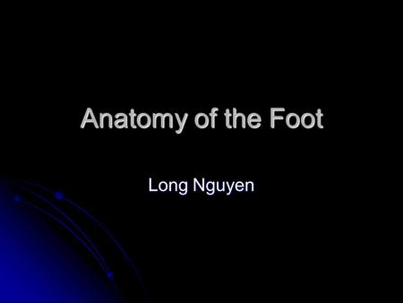 Anatomy of the Foot Long Nguyen. Exam q's With which bones does the first (medial) cuneiform articulate? How does the 1st cuneiform appear in a lateral.