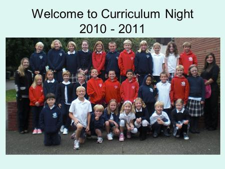 Welcome to Curriculum Night 2010 - 2011. Religion Catholic Social Teaching Principles: 1.Care for God's Creation 2.Life and Dignity of the Human Person.
