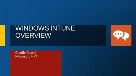 Charlie Russel Microsoft MVP. Enabling Flexible Workstyles.